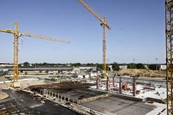 Eurozóna: stavební výroba klesá