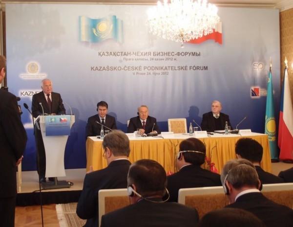 Kazachstán-ČR podnikatelské fórum