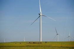 Největší větrná farma v Evropě. Zdroj: ČEZ