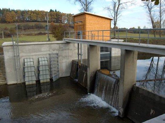 Malá vodní elektrárna Bohuslavice nad Vláří