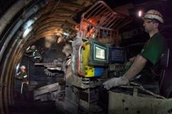 Horníci pracují v hloubkách až 1 100 metrů pod zemí. Foto: OKD