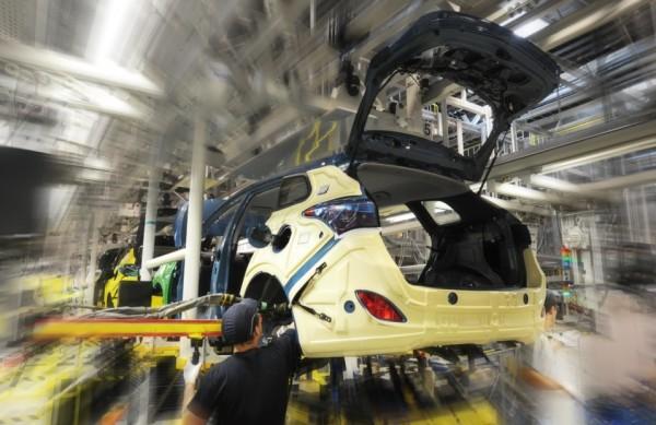 Výroba nového modelu i30 kombi