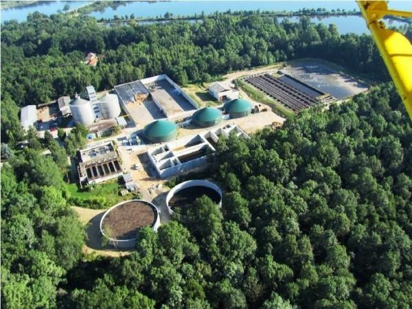 Bioplynová stanice v Třeboni