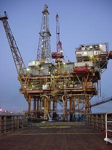 těžební plošina - mexický záliv