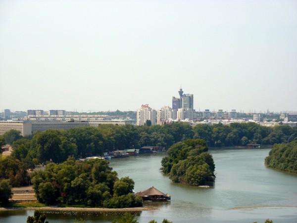 Hlavní město Srbska - Bělehrad. Foto: ZeWaren