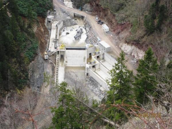 Výstavba vodní elektrárny Akocak v Turecku. Zdroj: ČEZ