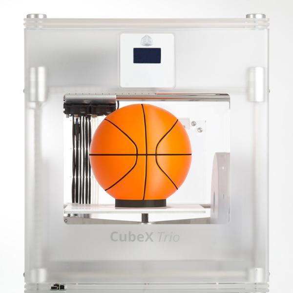 Tříbarevná verze 3D tiskárny CubeX Trio od 3D Systems. Foto: 3D Systems