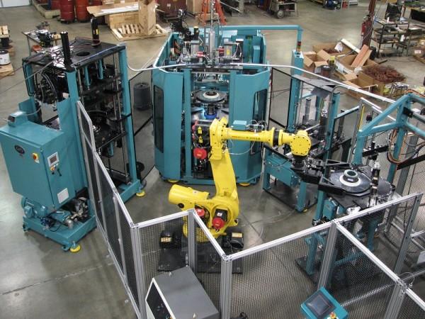 Zrychlení konstrukce mnoha projektů specializovaných strojů