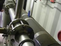 Detailní pohledy na membránový separátor AIR LIQUIDE vybavený zařízením CIAT