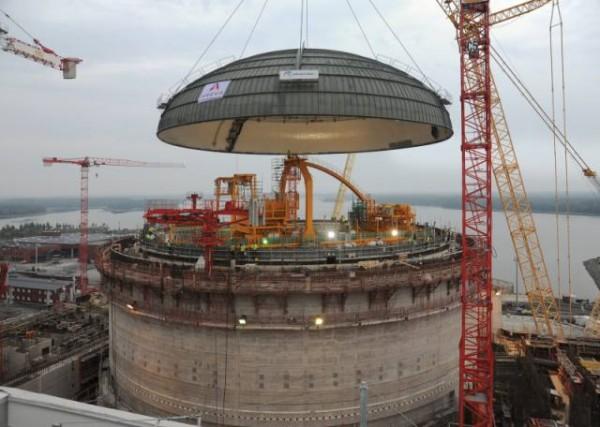 Výstavba reaktoru Olkiluoto 3. Foto: world-nuclear-news.org