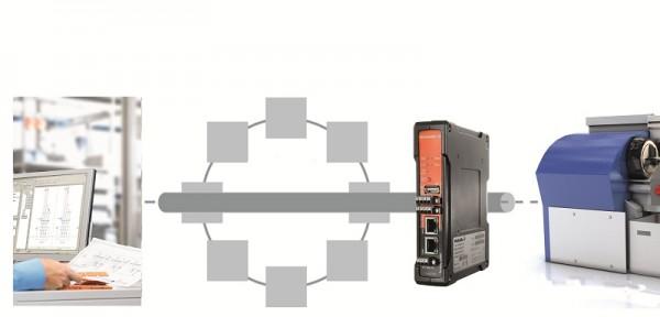 Weidmüller Gigabit Security Router: dálkový přístup přes zabezpečené připojení VPN ke strojům, zařízením a řídicím systémům umožnuje diagnostiku a opravu chyb z libovolného místa. V mnoha případech dokonce není nutná přítomnost servisního technika na místě, kde je zařízení instalováno.