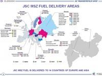 Jaderné palivo různého typu vyváží závod do 14 zemí