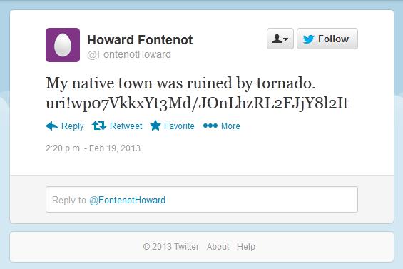 Pokud napadený systém splňuje požadované parametry, malware využije Twitter (bez vědomí uživatele)