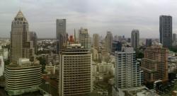 Si Lom – sathonské obchodní centrum v Bangkoku. Foto: Paul_012
