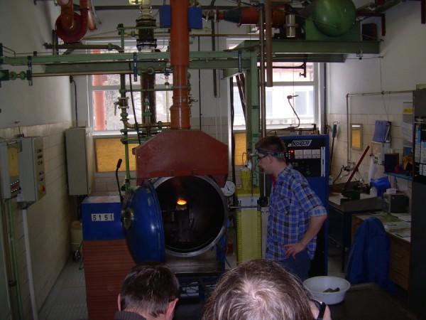 Na návštěvě ve výrobně termočlánku společnosti Safina