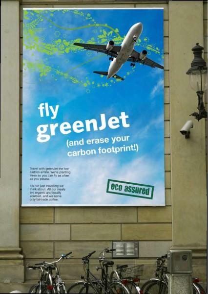Menší zlo – zelenější v rámci environmentálně problematické kategorie. Letecká doprava už z principu není ekologická