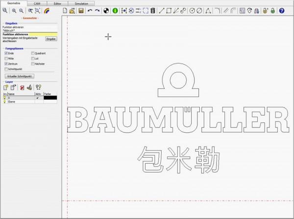 Uživatelé mohou nahrávat soubory DXF, např. z CAD, bez ohledu na jejich velikost.