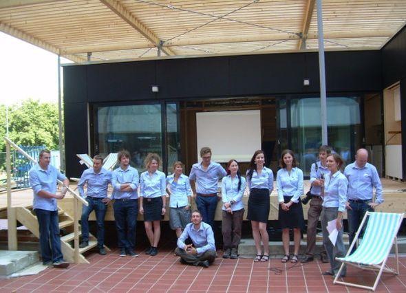 Tým studentů účastnících se projektu. Zdroj: Lukáš Jeníček