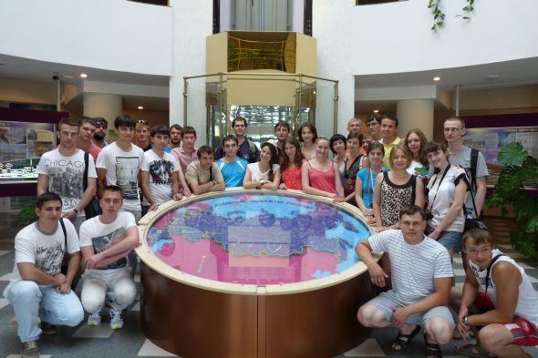 Studenti na stáži. Zdroj: Grayling Czech Republic