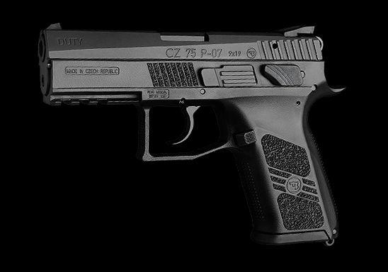 Pistole CZ P-04 Duty. Zdroj: Česká zbrojovka