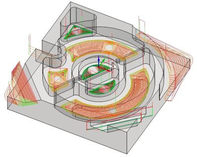 Návrh obráběcí strategie v systému SolidCAM. Zdroj: SolidCAM CZ