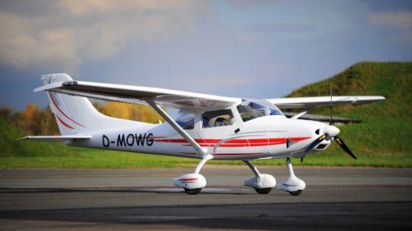 Ultralehké letadlo TL-3000 Sirius vyrobené pro zákazníka z Německa. Zdroj: TL Ultralight