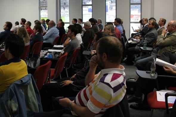 Konference se účastnilo několik desítek zájemců o problematiku efektivní výroby a využití energie. Fotografie: Markéta Gojná