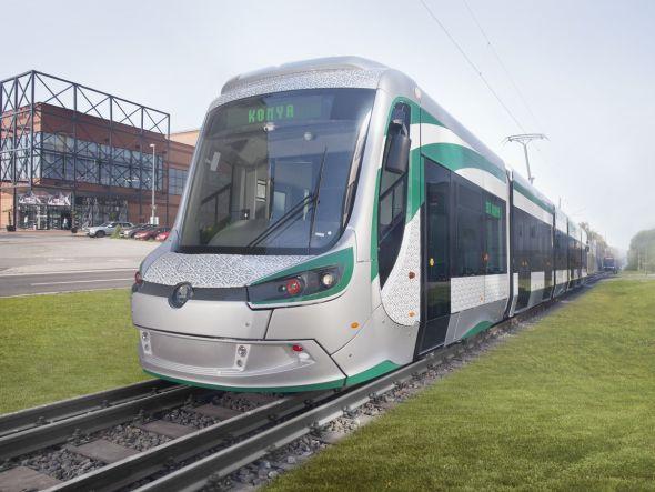 Tramvaj 28T v současnosti testují odborníci v tureckém městě Konya. Zdroj: Škoda Transportation