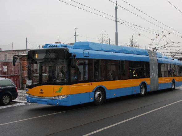 První z padesáti trolejbusů určených pro bulharské hlavní město je hotov. Zdroj: Škoda Transportation