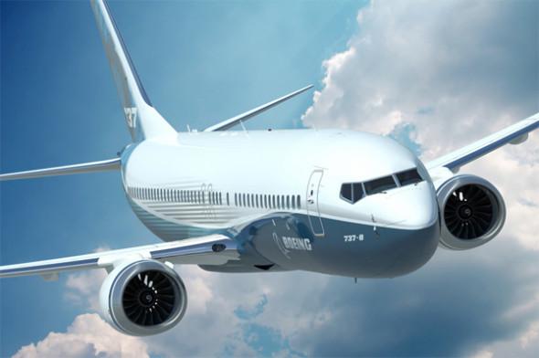Letoun 737 MAX je reakcí Boeingu na poptávku po menších letadlech s nižší spotřebou. Zdroj: Boeing