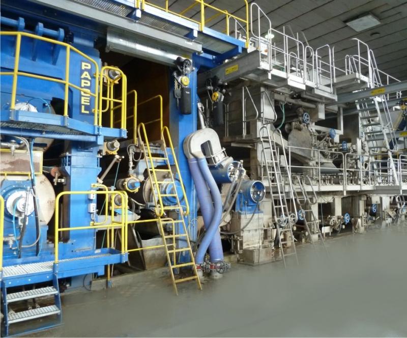 Papcel vyrábí stroje a technologická zařízení pro papírenský průmysl už víc než šedesát let. Zdroj: Papcel.cz