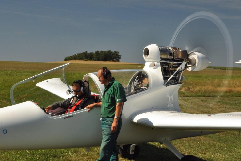 Turbovrtulový motor TP 100 pohání i letoun VUT 061 Turbo (zdroj: První brněnská strojírna Velká Bíteš)