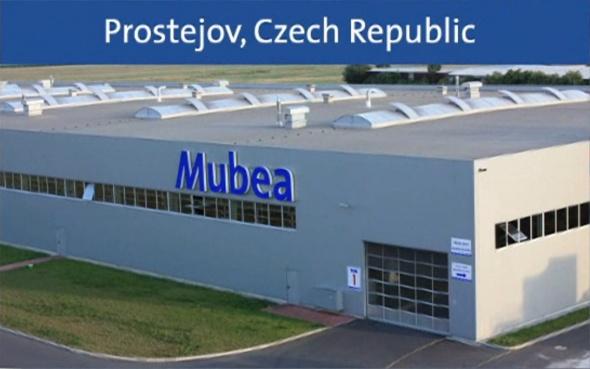 Stávající výrobní hala společnosti v Prostějově (zdroj: Mubea)
