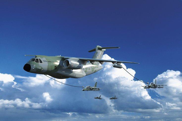 Aero uzavřelo s brazilskou společností Embraer kontrakt na vývoj a výrobu částí nového víceúčelového vojenského transportního letounu KC-390 (zdroj: Aero Vodochody)