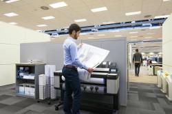 Komplexní řešení tisku ve firmě s rychlou multifunkční tiskárnou HP Designjet T3500 eMFP a softwarem SmartStream