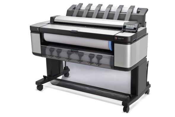 HP Designjet T3500 eMPF vyniká špičkovou ergonomií, byla navržena ve spolupráci s náročnými uživateli