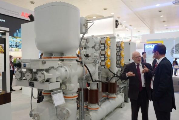 Součástí Hannover Messe 2015 budou předváděná zařízení jednotlivých firem. Foto: Hannover Messe