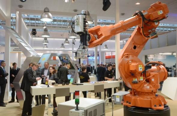 Hannover Messe představí i trendy v robotizaci a automatizaci. Foto: Hannover Messe