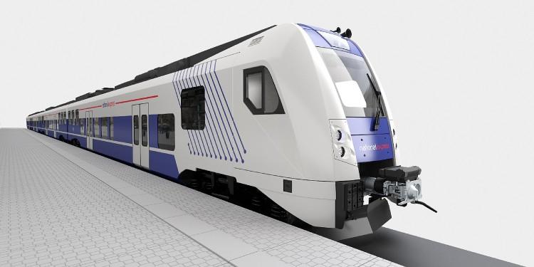 Příměststká souprava určená pro Norimberk a jeho okolí. Vizualizace: Škoda Transportation