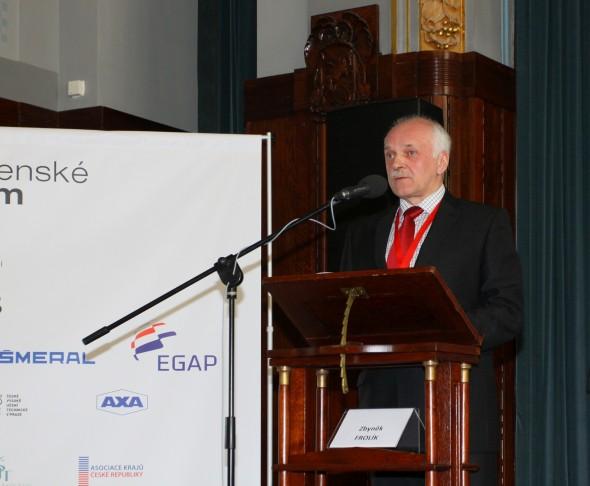 Oldřich Paclík, ředitel Svazu strojírenské technologie. Foto: Exponex
