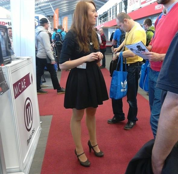 Martina Šebková, MCAE Systems. Foto: Milan Loucký
