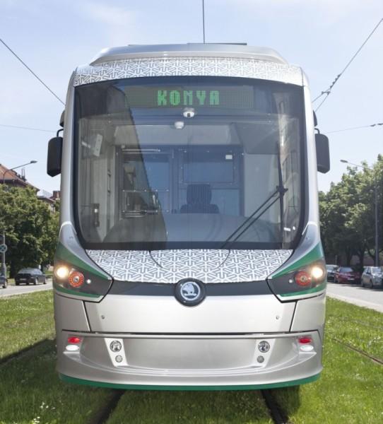Škoda Transportation dokončila výrobu šedesáti tramvají ForCity Classic pro turecké město Konya. Foto: Škoda Transportation