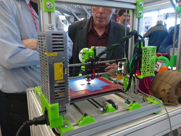 Dexpo bylo především o domácím 3D tisku. Foto: Milan Loucký