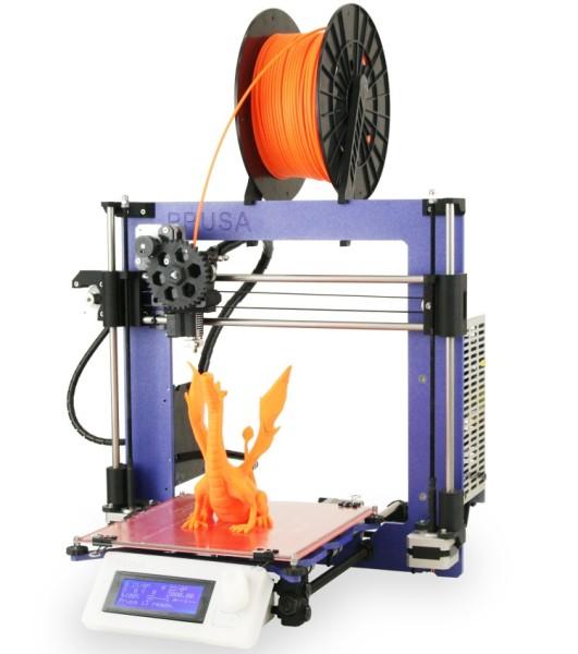 3D tiskárna Prusa I3 využívá koncept open-source, zaujme objemem pracovní plochy 8000 cm3 (200 x 200 x 200 mm) a otevřeným designem pro snadnou manipulaci. Bude to jedna z 3D tiskáren, se kterou se na 3Dexpo budete moci setkat. Foto: Prusa Research