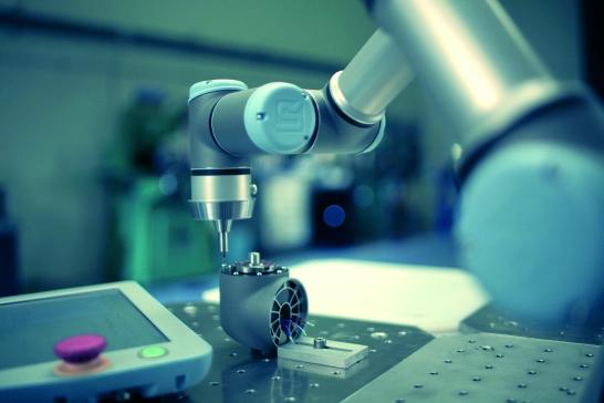 Robot společnosti Universal Robots ve výrobě. Foto: Universal Robots