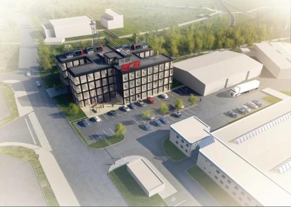 Novou budovu začne pardubická Era stavět už příští měsíc. Vizualizace: Era