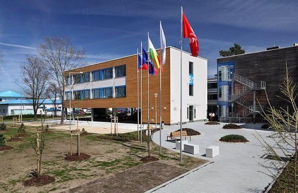 Pohled na jednu z budov Vědeckotechnického parku Plzeň. Foto: Vědeckotechnický park Plzeň