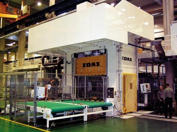 Mezi produkty, které ŽĎAS vyrábí, patří kovací lisy. Foto: ŽĎAS