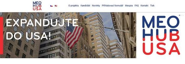 Webová stránka projektu MeoHub. Zdroj: www.meohub.com