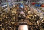 Tahounem průmyslu v České republice zůstávají automobilky, které se podílely na 8,1procentním růstu 2,9 procenty. Foto: TPCA Kolín